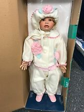 Künstlerpuppe Porzellan Puppe 67 cm. Top Zustand