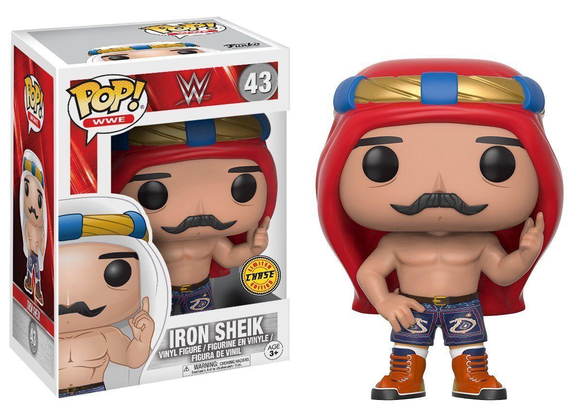 Iron Sheik Iran Wrestler Chase Variant POP  WWE  43 Vinyl Figur WWF Funko