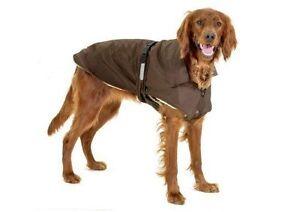 Karlie-Soft-Teflon-Dog-coat-No-Limit-RED-BLACK-BROWN-various-sizes-NEW