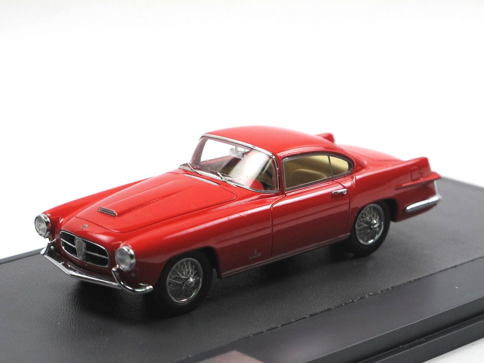MATRIX SCALE MODELS - 1955 JAGUAR xk140 Coupe by Ghia rouge 1 43 limited edition