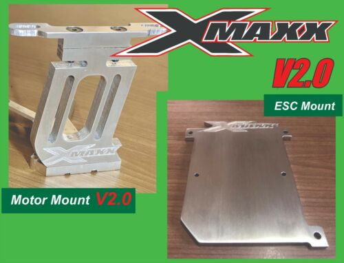 3 KITS Traxxas X-Maxx Motor Mount and ESC Mount NEW V2 Curve