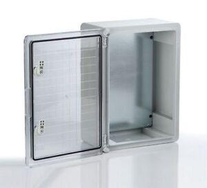 Kunststoff-Schaltschrank-Wandgehaeuse-Gehaeuse-Elektrogehaeuse-Verteilerschrank-NEU