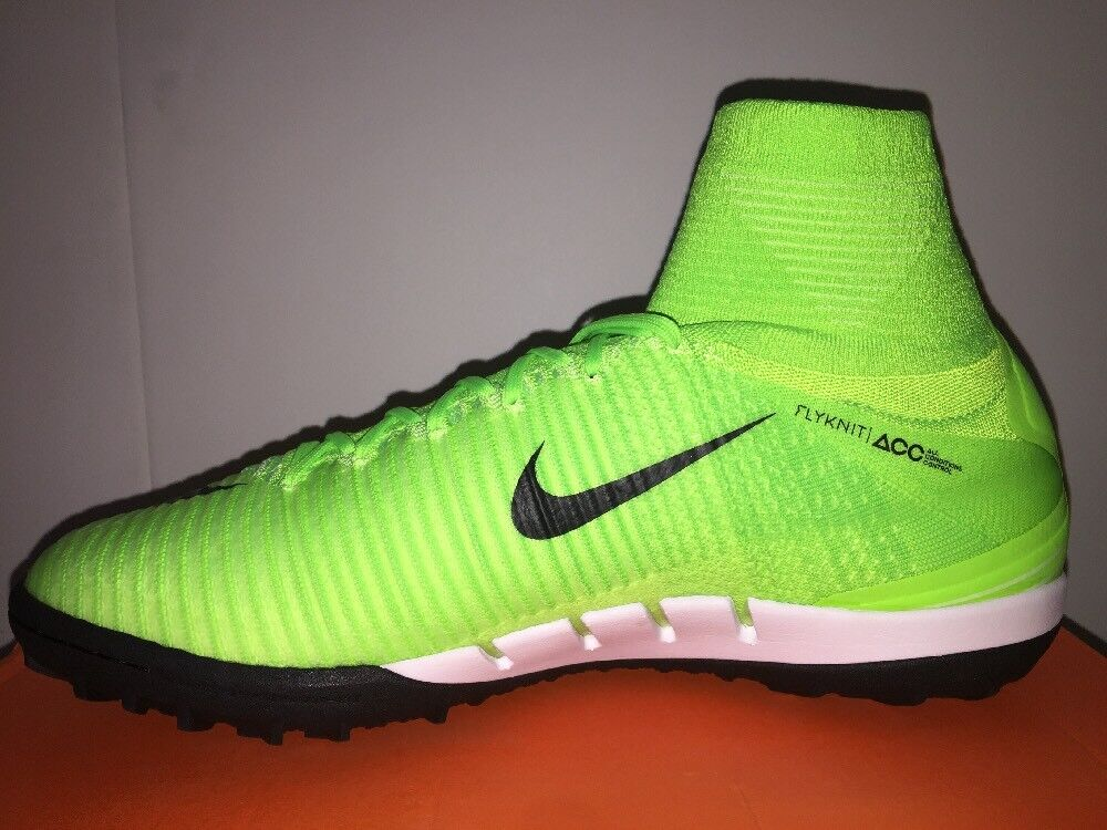 Nike MercurialX Proximo II DF TF Turf Electric Green Black SZ 12 (831977-308)