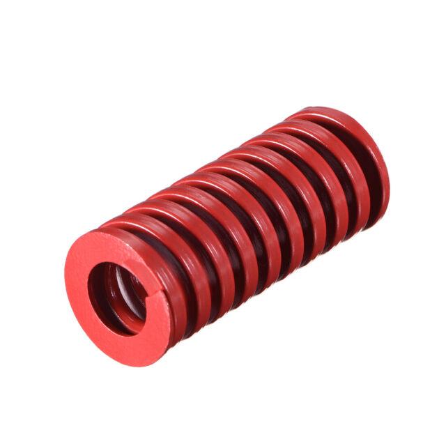 20mm OD 45mm Long Spiral Stamping Middle Load Compression Mould Die Spring 1Pcs