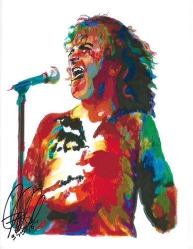 Vocals Rock Joe Cocker Blues Rock Soul Singer 8.5x11 PRINT w//COA Blues