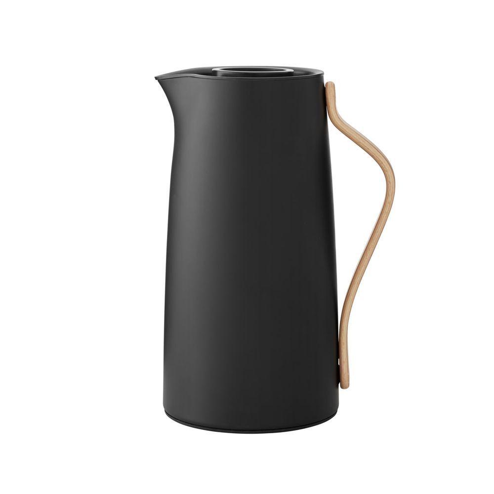 Stelton Emma - Isolierkanne - Kaffeekanne - matt matt matt schwarz - 1.2 l - SONDErotITION   | Nutzen Sie Materialien voll aus  2e98a7