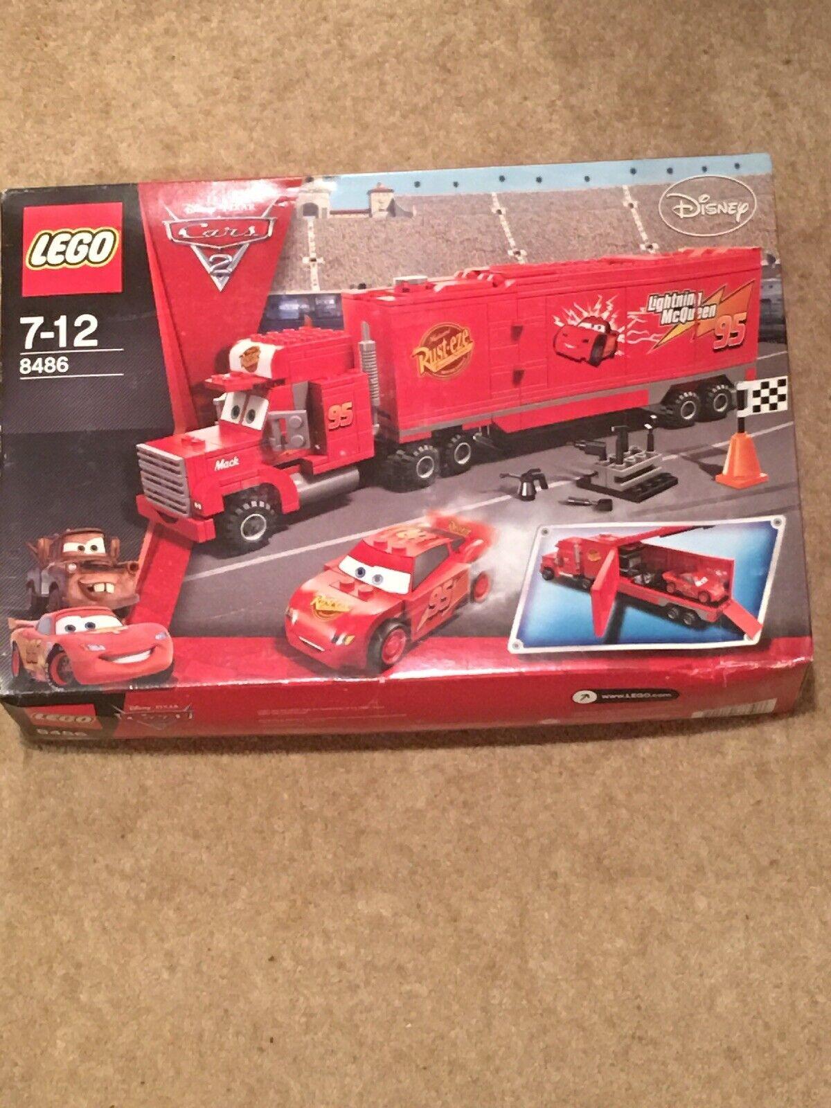 Nuevo Lego Cars Mack's Team Truck (8486)