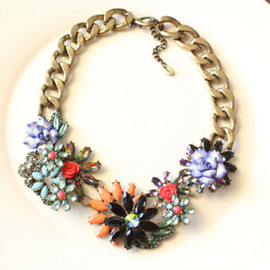 Nouveau-18-034-Zara-Col-Statement-Collier-Cadeau-Vintage-Femmes-Party-Holiday-Jewelry