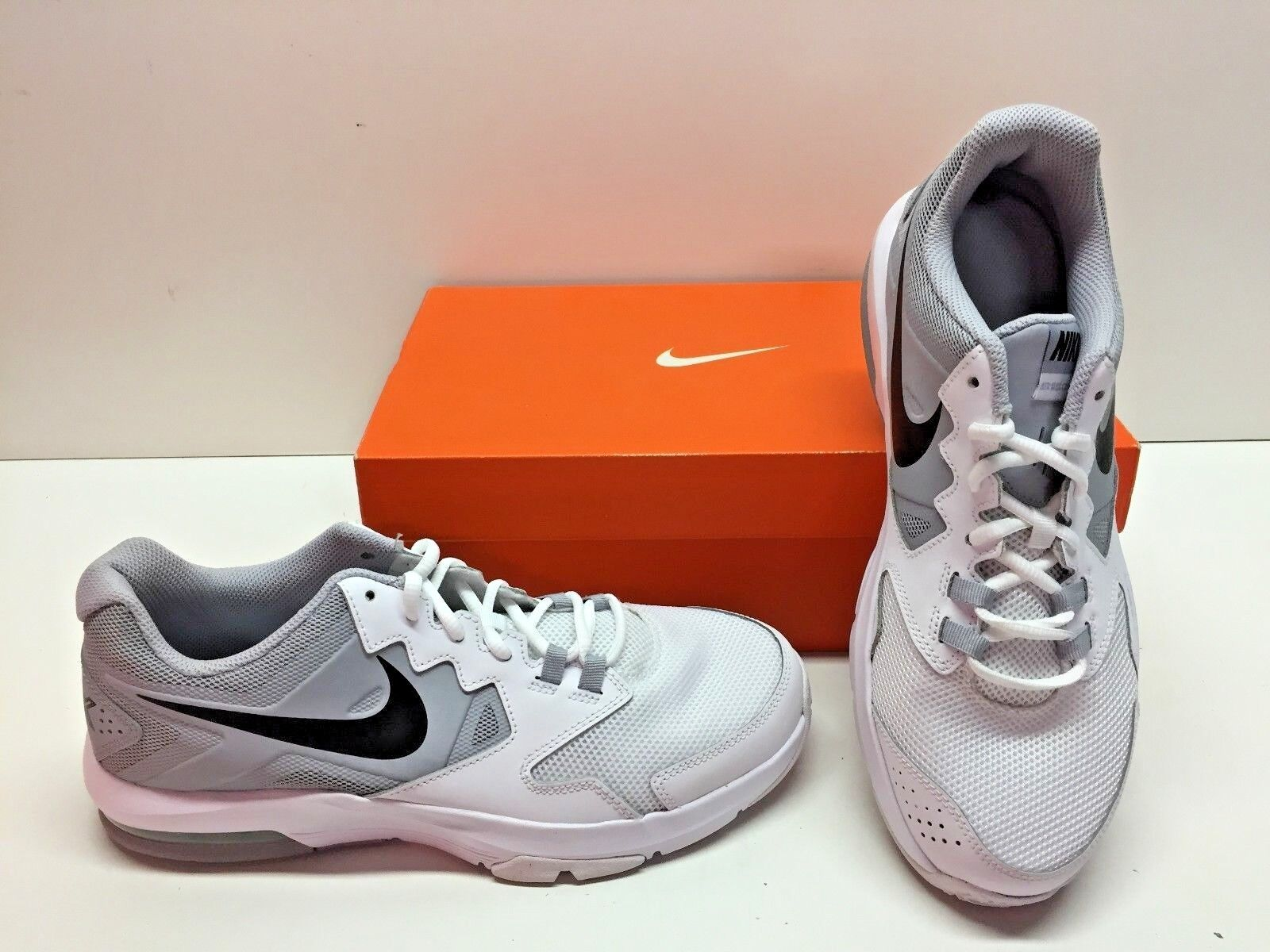 size 40 598d2 49e38 ... good nike air max crusher 2 running cross gris training zapatos hombre  zapatillas gris cross blanco