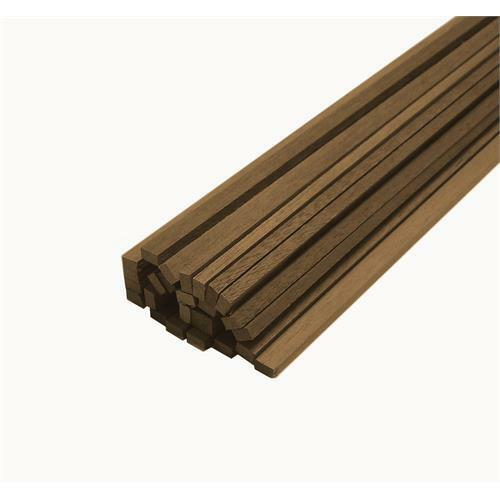 Pack of 10 Walnut Stripwood Bundles 1.5mm x 3mm x 450mm