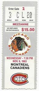 1983-ticket-stub-Montreal-Canadiens-v-Chicago-Blackhawks-Chicago-Stadium