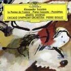 Alexander Scriabin: Le PoŠme de l'extase; Piano Concerto; Prom'th'e (CD, Jul-1999, Deutsche Grammophon)