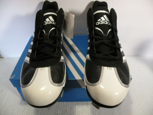 Nuevo Adidas Negro blanco Sz Zapatillas Mid Xtra Bases Tpu Men 13 G20826 Baseball gwHTxO