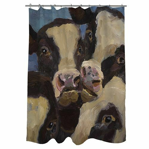 Thumbprintz Shower Curtain, I Wanna be in The Picture
