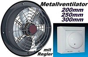 300mm-Industrieventilator-mit-REGLER-Fensterventilator-Wandventilator-Ventilator