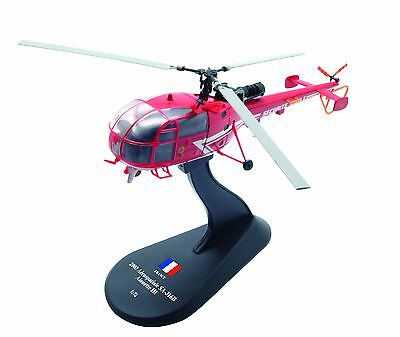 BELL OH-13 Sioux diecast 1:72 helicopter model Amercom HY-31