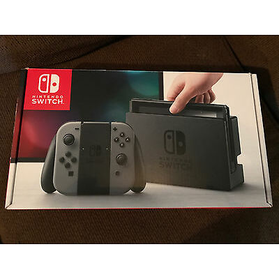 Nintendo Switch 32GB Gray Console w/ Joy-cons [Used] - Excellent Condition!