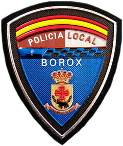 Policía Local Borox Police Dept parche insignia emblema texflex EB01626