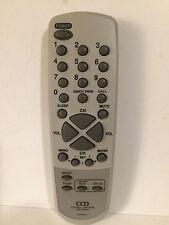 CCD Closed Caption Decoder Remote Control 076N0DW110