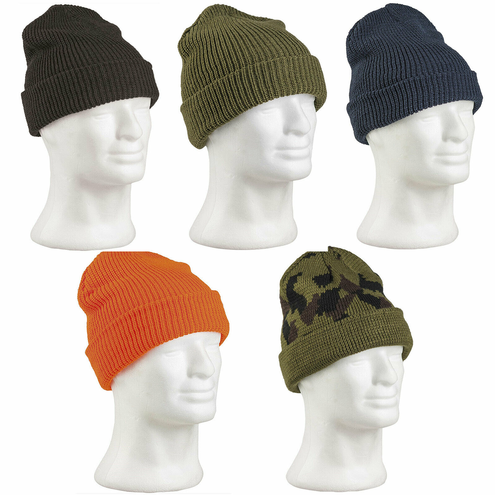BW Roll Knit Hat Pan Rolling Hat Knitted Cap Winter Hat Bundeswehr hat