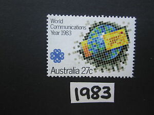 Australian-Stamps-1983-World-Communication-Year-Used