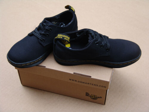 Dr US sizes 1-3 Youth Martens KOREY Black shoes