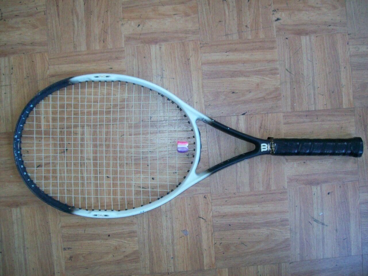 Wilson Hammer 6.2 OS 110 head 4 5/8 Tennis Racquet