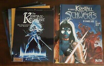 Die Legende des Kristallschwerts 1  Splitter Verlag Neuware