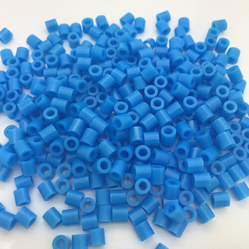 1000//500PCs 5mm Hama Beads Perler Beads Early Education Baby Kids DIY Toys