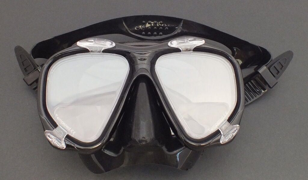 Scuba Dive Mask with Bifocal Corrective Lenses +1.5 Gauge Reader WIL-DM-51(+1.5)