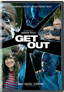 Details about GET OUT Jordan Peele Brand New Factory Sealed DVD BLUMHOUSE  Horror Thriller Film