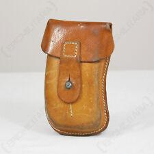 ORIGINAL CZECH SA61 Ammo Pouch - Leather Surplus - WW2 - Mag Divider