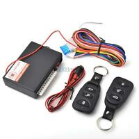 Universal Car Vehicle Remote Door Locking Keyless Entry System Trunk Release Kit