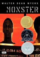 Monster By Walter Dean Myers, (paperback), Amistad , New, Free Shipping on Sale
