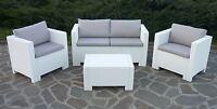 Rattan Wohnzimmer Garten Externe Sofa Möbel Set Poly Rattan Kissen Sessel