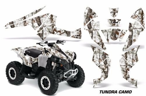 ATV Decal Graphics Kit Quad Wrap For Can-Am Renegade 500 X//R 800X//R 1000 TUNDRA