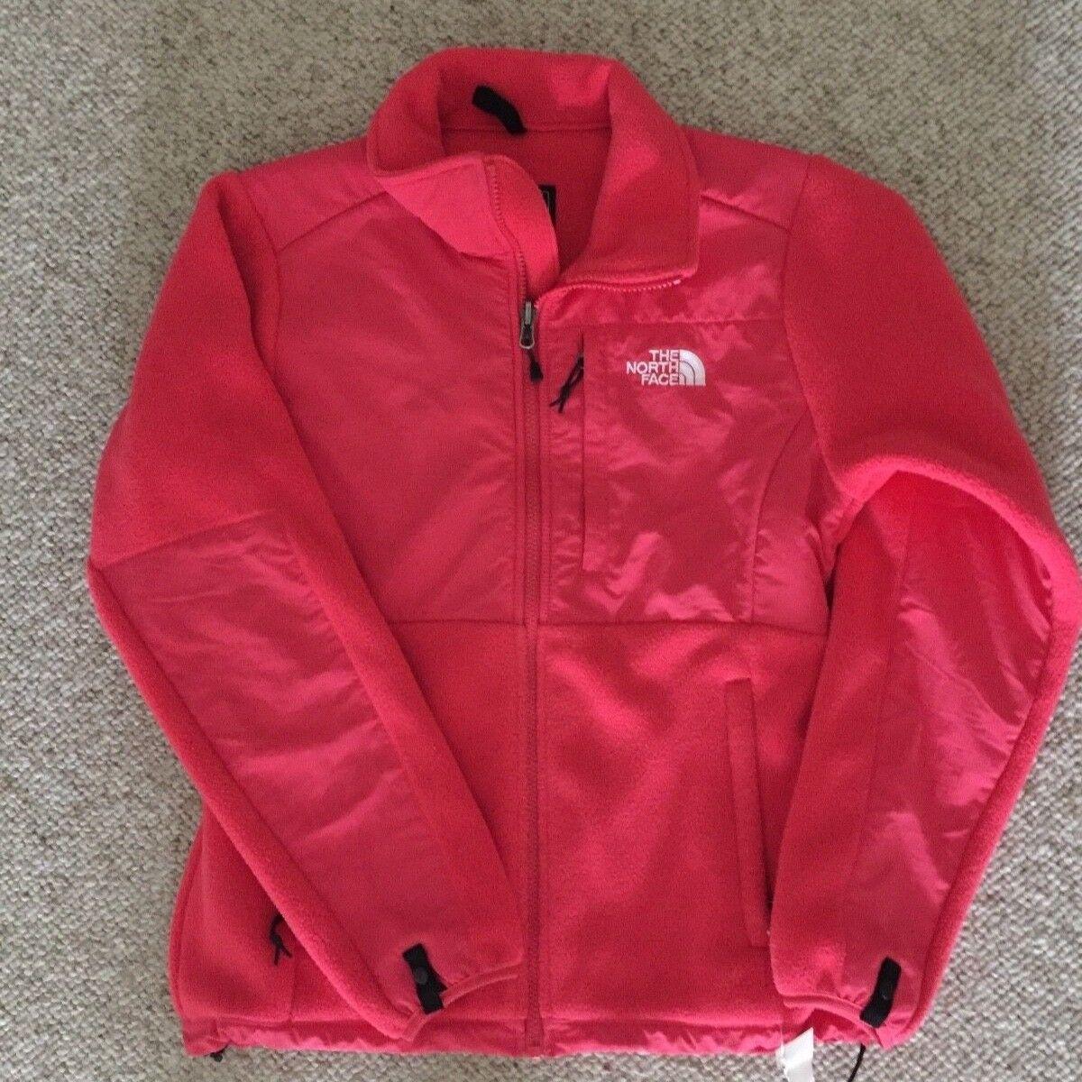 NWT North Face Denali Fleece Neon Pink womens small