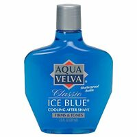 2 Pack - Aqua Velva Cooling After Shave, Classic Ice Blue 7 Oz Each on Sale