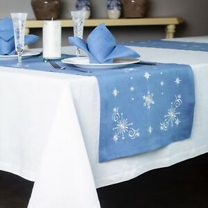 Linen-Table-Runner-Christmas-and-New-Year-57-034-x18-034-100-European-Linen