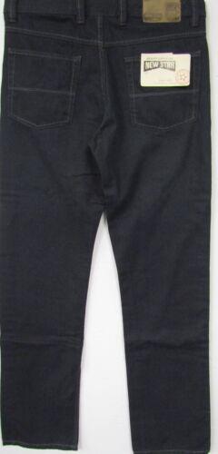 Nouveau Relaxed Hommes Denim Jeans Pantalon Dark Blue Foncé Bleu Grand 46,56,60 l34 l36