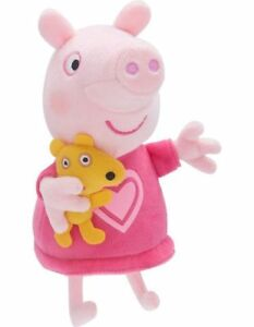NEW Peppa Pig Talking Bedtime Plush