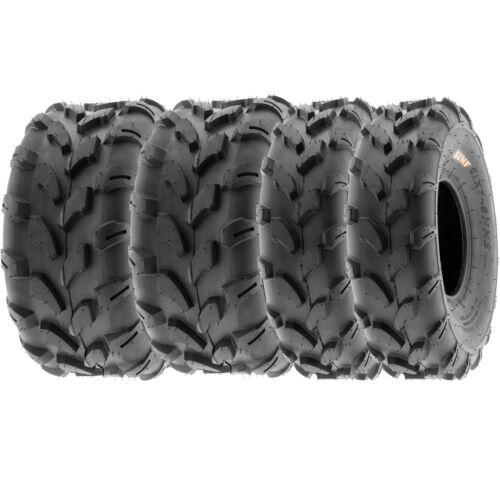 SunF 18x7-8 18x9.5-8  All Terrain ATV UTV Tires 6 PR Tubeless  A003 Bundle