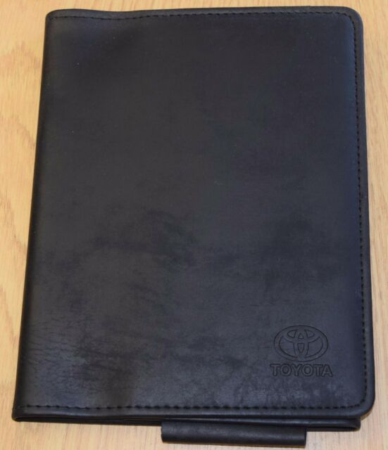 Genuine Ford Handbook A5 Size Used Document Wallet
