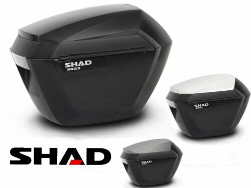 Suitcases SHAD SH23 motorrad trail bags side trunk top-case NEW SH 23 NEW
