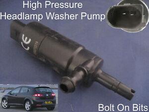 Headlamp-Headlight-Washer-Spray-Cleaning-Pump-SEAT-Leon-Mk2-2005-to-2013