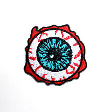 Ghost Zombie Eyeball Halloween Monster Clothing Shirt Shoes Applique Iron patch