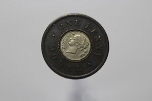 UK-GB-MODEL-PENNY-VICTORIA-WITH-SILVER-INSERT-NICE-DETAILS-B10-K2085