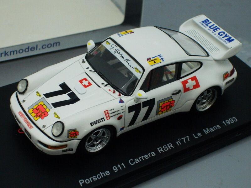 1 43 Spark Spark Spark PORSCHE 911 CARRERA RSR LE MANS 1993 5f0291