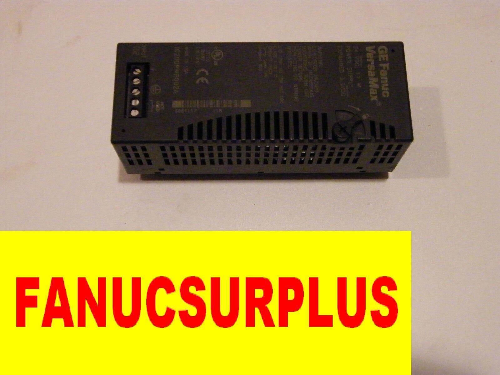 GE FANUC  IC200PWR002A IC200PWR002 IC200PWR002C POWER VERSAMAX 1 YEAR WARRANTY