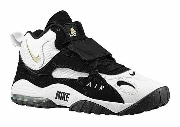 2be30012fcb2 NEW NIKE AIR MAX SPEED TURF   SIZE 11.5   WHITE BLACK TRAINING SHOES 525225